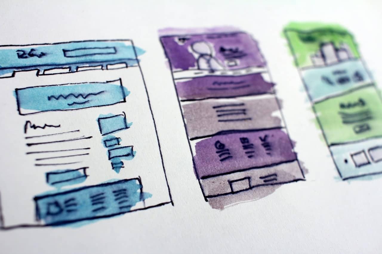 business website design image