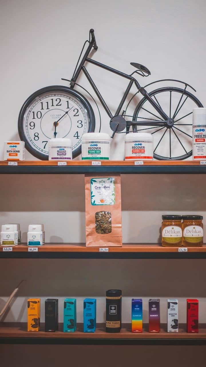 products in cbd shop